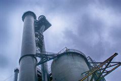 Industrial structure Royalty Free Stock Photos