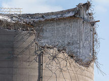 Industrial Structure Ruin. Stock Photos