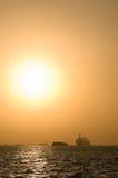 Industrial Sunrise Stock Photography