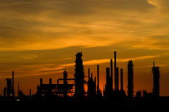 Free Industrial Sunset With Copy Space Stock Image - 10620311