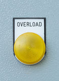 Industrial switching button of control panel Royalty Free Stock Photography