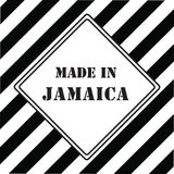 Made in Jamaica Stock Photography