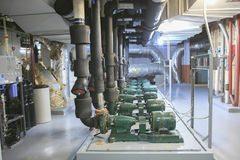Industrial system of ventilation and air-condi Stock Image