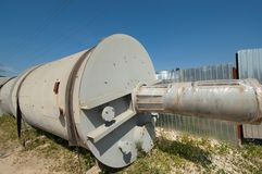 Industrial tank royalty free stock images