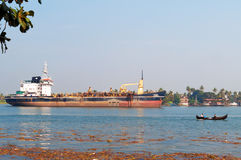 Industrial tanker Stock Photography