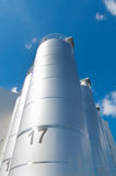 Industrial tanks Stock Photography