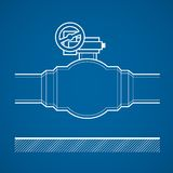 Industrial tap Royalty Free Stock Photos