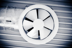 Industrial techno fan Stock Photo