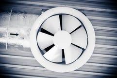 Industrial techno fan Stock Photo