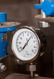 Industrial temperature meter Stock Photos