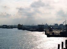 Industrial terminal in Calais, France Stock Photos