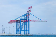 Industrial terminal Royalty Free Stock Image