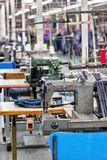 Industrial Textile factory Royalty Free Stock Photos