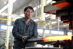 Industrial theme - Industrial Workers Royalty Free Stock Photography