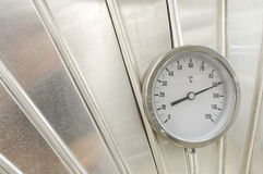 Industrial thermometer Stock Photos