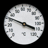 Industrial thermometer Royalty Free Stock Images