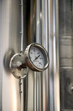 Industrial thermometer Royalty Free Stock Photo