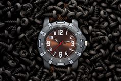 Industrial time/watch concept Stock Photo