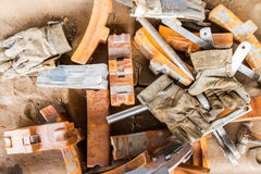 industrial tools and protective gear Stock Photos