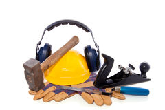 Industrial tools and safety Stock Photos