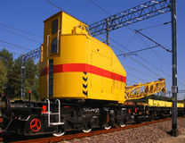 Industrial train Royalty Free Stock Photography
