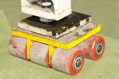 Industrial trolley transportation tool. Stock Image