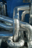 Industrial tubes Stock Photo
