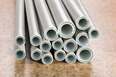 Industrial tubes Stock Photos