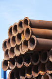 Industrial Tubes Stock Image