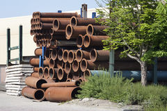 Industrial Tubes Royalty Free Stock Photo