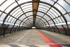 Industrial Tunnel Royalty Free Stock Photography