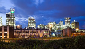Industrial twilight Stock Photos