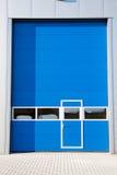 Industrial Unit. With roller shutter doors Stock Photo
