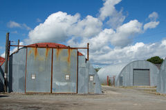Industrial unit. Royalty Free Stock Photo
