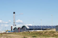 Industrial Units at Shoreham  UK Royalty Free Stock Photos
