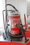 Industrial Vacuum Cleaner. Big Commercial Vacuum Cleaner With Cart royalty free stock images