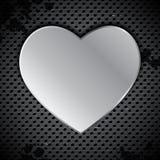 Industrial valentine's background Stock Photo