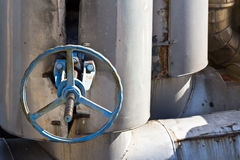 Industrial valve Royalty Free Stock Photography