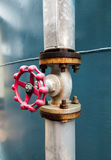 Industrial valve Stock Photography