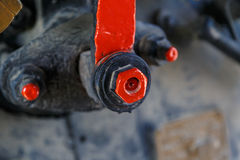 Industrial Valve and Cable Stock Photography