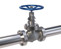 Industrial Valve Stock Image