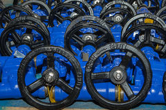Industrial valves ready for dispatch Stock Photography