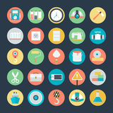 Industrial Vector Icons 3 Stock Photography