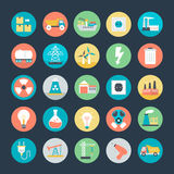 Industrial Vector Icons 1 Royalty Free Stock Photography