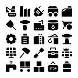 Industrial Vector Icons 10 Royalty Free Stock Photo