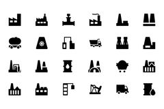 Industrial Vector Icons 1 Stock Image