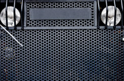 Industrial vehicle grille Royalty Free Stock Photography