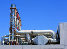 Industrial ventilation equipment Royalty Free Stock Images