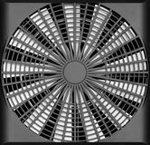 Industrial ventilation fan. An industrial ventilation fan - turbine air-compressor Stock Photography