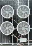 An industrial ventilation fan Royalty Free Stock Image
